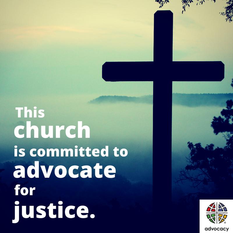 ELCA Advocacy Cross