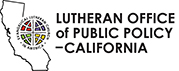 Lutheran Office of Public Policy - California Logo